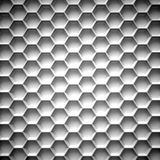Black and white honeycomb. Abstract background Royalty Free Stock Images