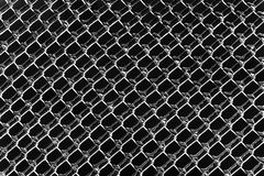 Black and White Ice Diamond Patterns Royalty Free Stock Photo