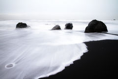 Black and white Iceland Royalty Free Stock Photography