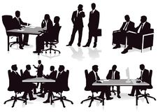 Office consultations Royalty Free Stock Photo