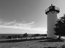 Oak Bluffs Lighthouse, Marthas Vineyard Royalty Free Stock Photo
