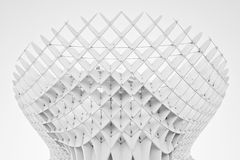 Black and white impression of Metropol Parasol Royalty Free Stock Images