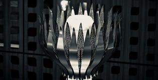 Black and white interior showpiece object unique photograph. Beautiful interior decorative showpiece object isolated unique stock photograph royalty free stock image