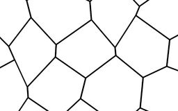 Black and White Irregular Mosaic Template Royalty Free Stock Image
