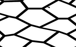 Black and White Irregular Mosaic Template Royalty Free Stock Images
