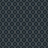 Black and white isometric grid background Royalty Free Stock Photos