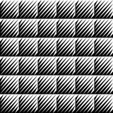 Black and white jagged edge seamless pattern Royalty Free Stock Photos