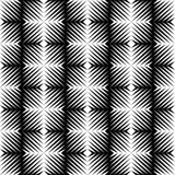Black and white jagged edge seamless pattern Royalty Free Stock Photo