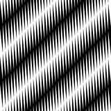 Black and white jagged edge seamless pattern Stock Photo