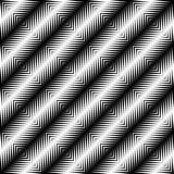 Black and white jagged edge seamless pattern Royalty Free Stock Photography