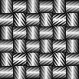 Black and white jagged edge seamless pattern Stock Images