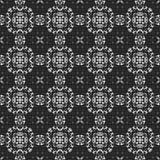 Black and white kaleidoscope vector illustration
