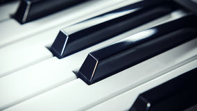 Black And White Keys Royalty Free Stock Images