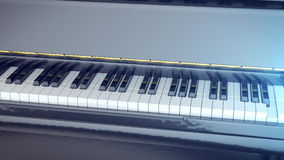 Black and white keys of a piano Royalty Free Stock Image