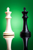 Black and white kings Stock Image