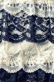 Black and white lace Royalty Free Stock Image