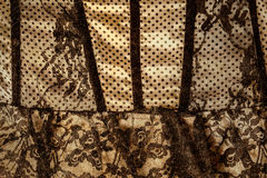 Black and white lace Stock Photos