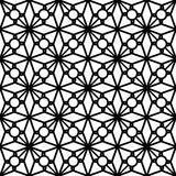 Black and white lace pattern Royalty Free Stock Images