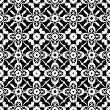 Black and white lace pattern Stock Images