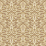 Vintage gold pattern Royalty Free Stock Photos