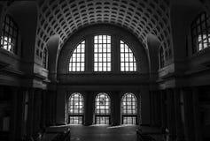 Black And White, Landmark, Monochrome Photography, Arch royalty free stock photo