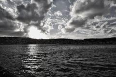 Landscape from Kefalonia royalty free stock photo