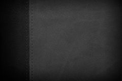 Black and white leather background Stock Photos