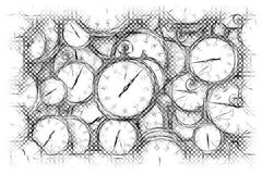 Black And White, Line Art, Drawing, Sketch stock photography