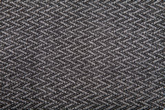 Black & white linen texture Stock Photo