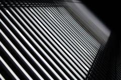 Black and white lines stock photography