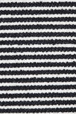Black and white lines on fabric Royalty Free Stock Photos