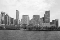 Black and white Manhattan Stock Images