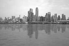 Black and white Manhattan Stock Photos