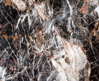 Black and White Marble Stock Photography