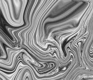 Black and White Marble Texture Royalty Free Stock Photography