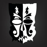 Black & white mask Royalty Free Stock Photography