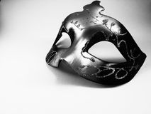A black and white mask Royalty Free Stock Images