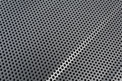 Black & white metal background Stock Photography