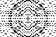Black on white micro halftone vector texture. Digital optical illusion. Concentrated dotwork gradient for vintage effect. Monochrome halftone overlay stock illustration