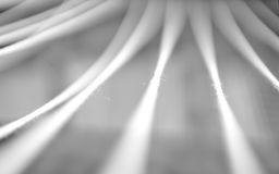 Black and white minimal abstraction ropes backdrop Royalty Free Stock Images
