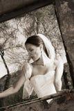Black and White Modern Bride Stock Photos