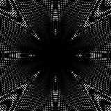 Black and white moire lines, striped  psychedelic background.  O Stock Photography