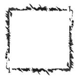 Black and white monochrome abstract frame vector isolated Stock Images
