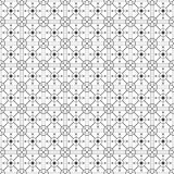 Black And White Monochrome Geometric Graphic Pattern Stock Photo