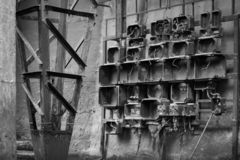 Black And White, Monochrome Photography, Iron, Metal royalty free stock photography