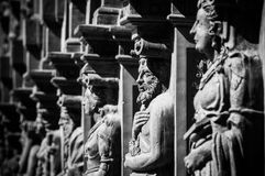 Black And White, Monochrome Photography, Statue, Monochrome Royalty Free Stock Images