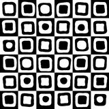 Black and white mosaic background Royalty Free Stock Photography