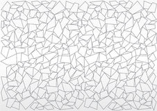 Black and white mosaic background Royalty Free Stock Images