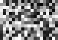 Black and white mosaic Royalty Free Stock Image