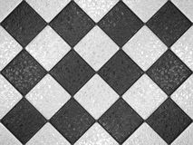 Black and white mosaic Royalty Free Stock Photography